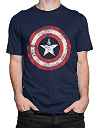 Captain America Mens' Avengers Captain America T-Shirt