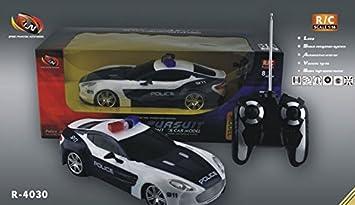 Amazon.com: Nueva Radio Control Policía supercoche Aston ...