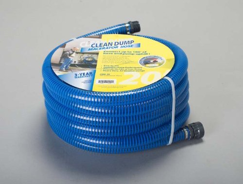 Clean Dump (CDH-20) 20' Length Extension Hose