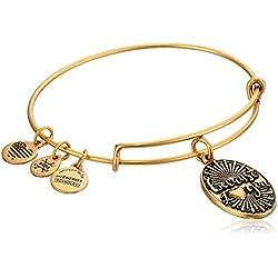 Alex and Ani Because I Love You Rafaelian Gold Bangle Bracelet