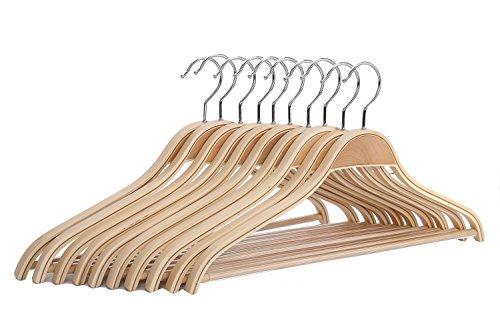 J S Hanger Natural Hangers Non slip