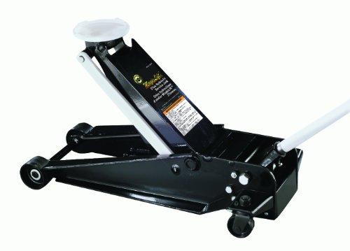 (Omega 25037 Magic Lift Black Hydraulic Service Jack - 3 Ton Capacity)