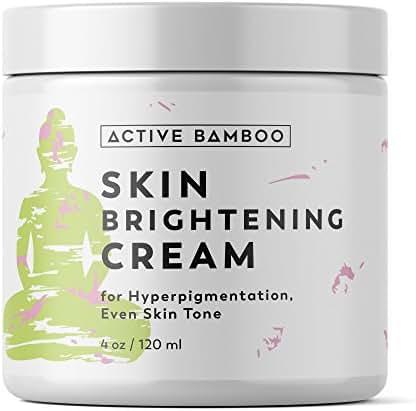 Whitening Cream. Anti Aging Skin Lightening Cream - Dark Spot Corrector Age Spot Remover for Face - Day Night Moisturizing Cream 4 OZ