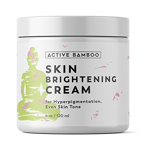 Whitening Cream. Anti Aging Skin Lightening Cream - Dark Spot Corrector Age Spot Remover for Face - Day Night Moisturizing Cream 4 OZ (Best Anti Aging Products For Black Skin)