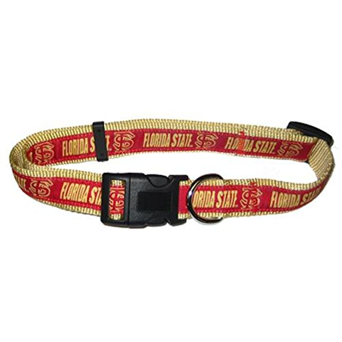 Pets First Florida State Seminoles Dog Collar Large
