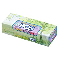 BOS Amazing Odor Sealing Disposable Bags for Diapers, Pet Waste or Any Sanitary...