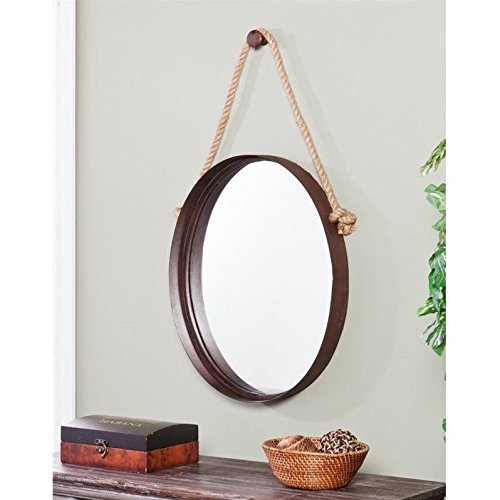 Melissa Decorative Mirror (Large Round Decorative Mirror)