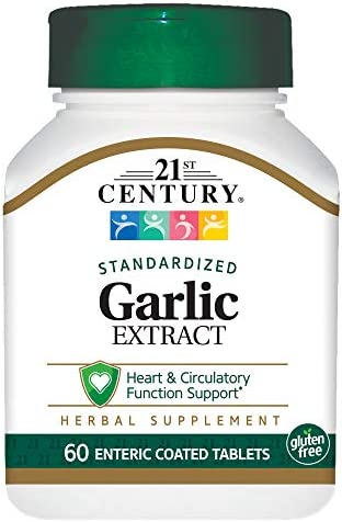 21st Century Garlic odorless Tablets product image