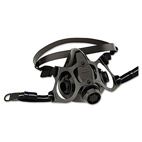 Series Half Mask Respirator - North Medium Black Silicone 7700 Series Half Mask Facepiece