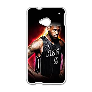 Happy lebron james miami heat Phone Case for HTC One M7
