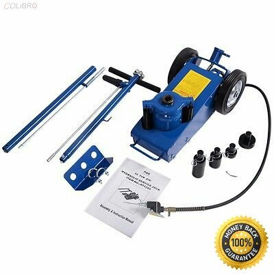 COLIBROX-- 22 Ton Air Hydraulic Floor Jack HD Truck Lift Jacks Service Repair Lifting Tool 22 Ton Air Hydraulic Floor Jack HD Truck Lift Jacks Service Repair Lifting Tool
