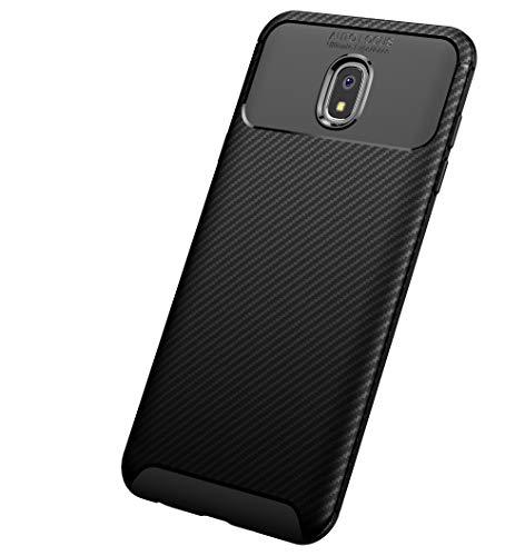 - Galaxy J7 Refine/J7 2018/J7 Star/J7 Top/J7 Aura/J7 Aero/J7 Crown/J7 Eon,Carbon Fiber Frosted Texture Pattern Light Shockproof Cover Full Slim Fit Shell Soft TPU Silicone Case for Samsung J7 V 2nd Gen