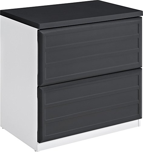 Ameriwood Home Pursuit Lateral File Cabinet, Gray (File Desks Cabinet)