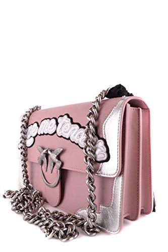 Pinko Borsa A Spalla Donna LOVEFLAME1NI9 Pelle Rosa