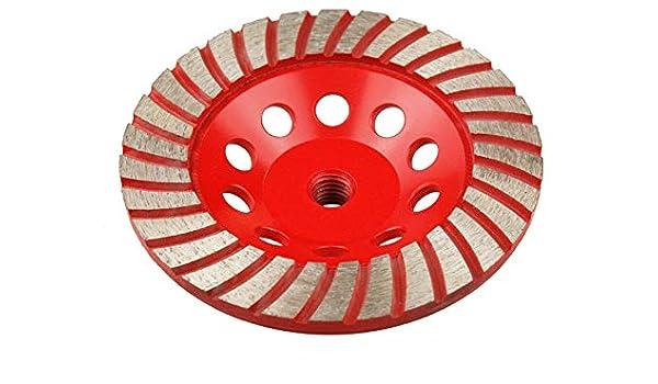 Copa Diamante Turbo 125 mm con rosca M14: Amazon.es: Bricolaje y herramientas