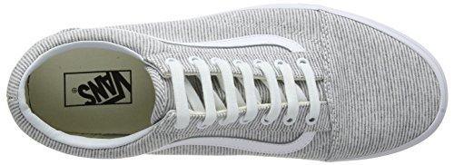 Gray Old I1f True White Jersey Women's Trainers Skool Vans Grey Yaq4RxS