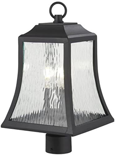 Minka Lavery Outdoor Post Lights 72466-66 Cassidy Park Exterior Post Lantern, 3-Light 180 Watts, Black