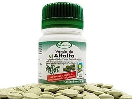 Verde Alfalfa 100 comprimidos de Soria Natural