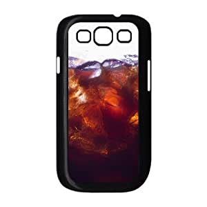 Samsung Galaxy S3 Cases Men Luxury Cola with Ice, Ice Cream Cone Samsung Galaxy S3 Case Luxury [Black]