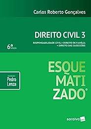 Direito Civil esquematizado® : Responsabilidade civil : Direito de família : Direito das sucessões - 6ª edição