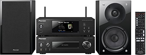 Pioneer P2-K Kompaktanlage (Stereo-Receiver, Netzwerk Player, 2x 75 Watt, Direct Energy HD Endstufen, WiFi, Bluetooth) schwarz