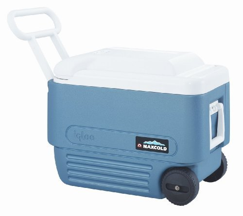 Price comparison product image Igloo Max Wheeled Cooler 40 Qt Blue