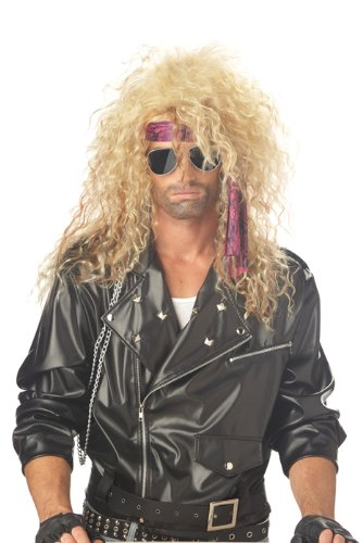 California Costumes Heavy Metal Rocker Wig