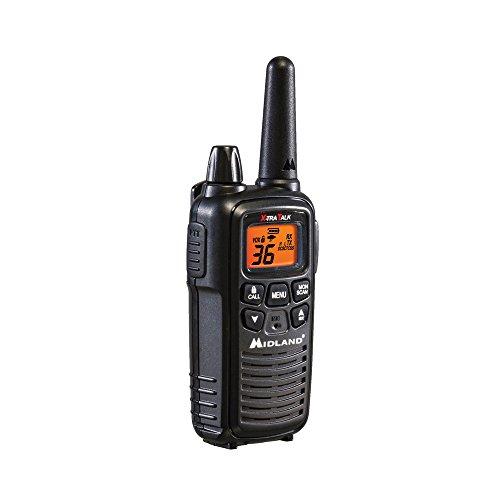 Midland - LXT600VP3, 36 Channel FRS Two-Way Radio - Up to 30 Mile Range Walkie Talkie, 121 Privacy Codes, NOAA Weather Scan + Alert (Pair Pack) (Black) by Midland (Image #5)
