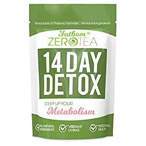 Health Shopping Zero Tea 14 Day Detox Tea, Weight Loss Tea, Teatox Herbal Tea for Cleanse