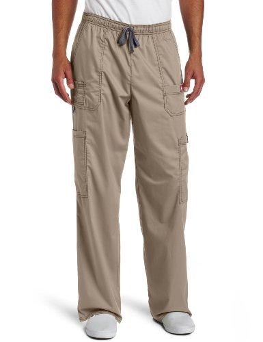Dickies Men's Big and Tall GenFlex Utility Drawstring Cargo Scrubs Pant, Dark Khaki, ()