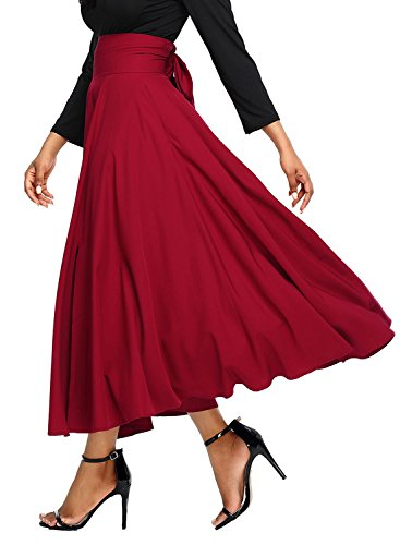 Annflat Jupe Annflat Femme Red Jupe H7qg4UHTW