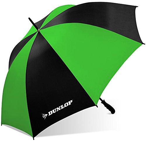 Dunlop Jumbo Golf Umbrella-Ms-56dl Blkgrn, Black/Green