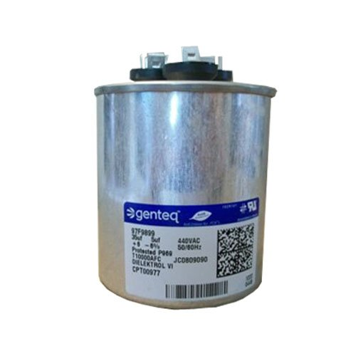 97F9899 - GE OEM Upgraded Replacement Round Capacitor 35 + 5 uf MFD 440 Volt