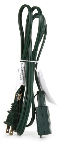 Darice Extension Cord 6 Feet Green
