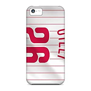 High Grade ConnieJCole Flexible Tpu Case For Iphone 5c - Player Jerseys