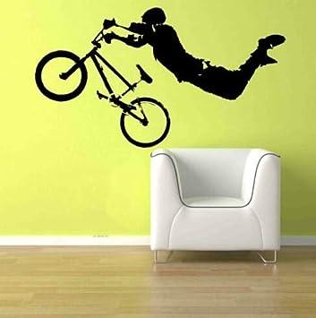 ganlanshu Deportes Extremos Montar en Bicicleta calcomanía de ...