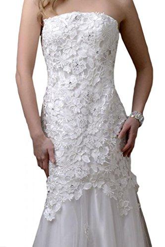 Stile Mermaid tulle TOSKANA sposa & punta, un'ampia Party ball lunghezza abiti da sera moda abiti da sposa