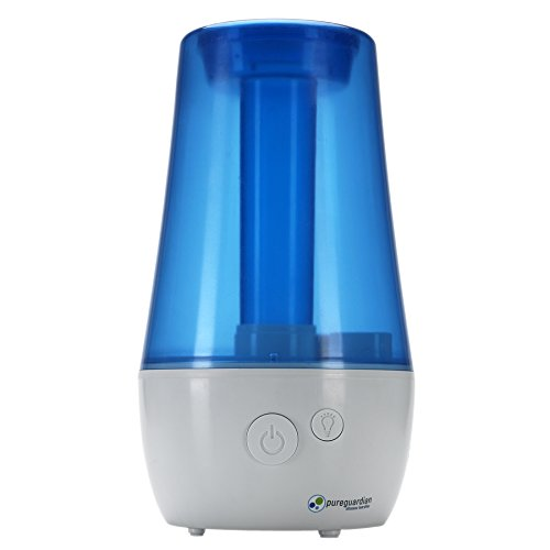 PureGuardian H965 Ultra-Quiet Ultrasonic Cool Mist Humidifier - 3.6L Capacity, 70-Hour Run Time - Easy to use - Low and High settings - Night light - Great for kids rooms
