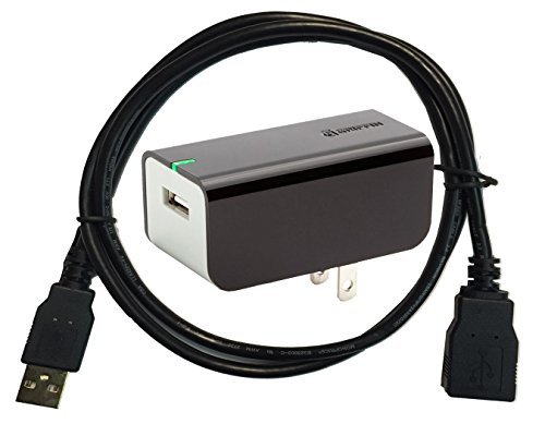 Excelshots AC Adapter//Wall Charger USB Connection Support Cable for Sony HDR-CX240 Handycam Camcorder.