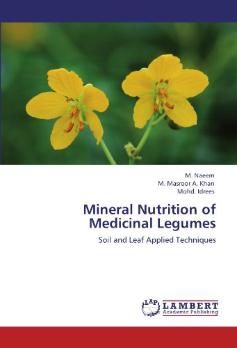 Mineral Nutrition of Medicinal Legumes: Soil and Leaf Applied Techniques
