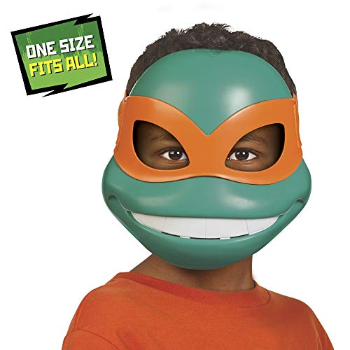 Rise of the Teenage Mutant Ninja Turtles Michelangelo's Role Play Mask]()