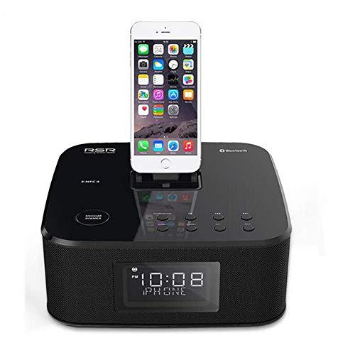 YXZQ Bluetooth Alarm Clock Speaker DS402 Radio Wireless ...