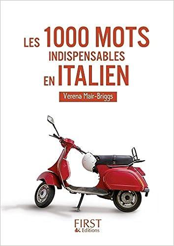 Le Petit Livre De 1000 Mots Indispensables En Italien