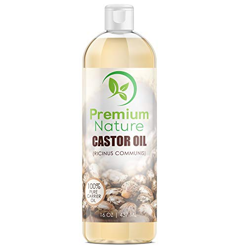 Cold Pressed, Hexane-free Castor Oil - Best Moisturizer for
