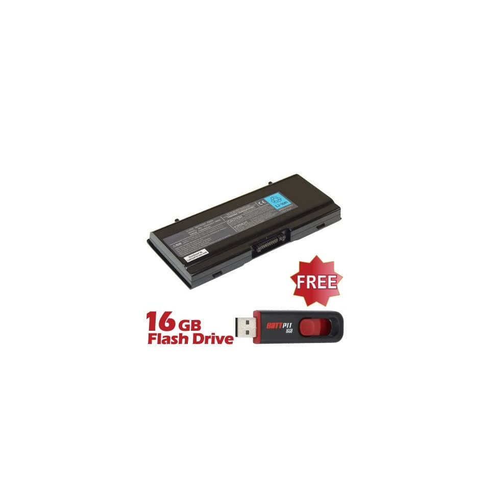 Battpit™ Laptop / Notebook Battery Replacement for Toshiba Satellite A45 S151 (8800 mAh) with FREE 16GB Battpit™ USB Flash Drive