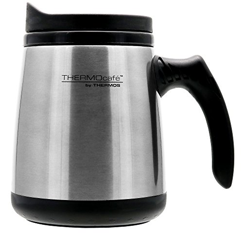 Thermos Thermocafe Stainless Travel Silver