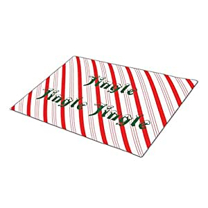 Orianaa candycane strips collection Decorative Door Mats