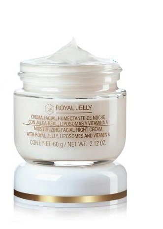 Royal Jelly Moisturizing Night Facial Cream with Royal Jelly, Liposomes and Vitamin A, 60