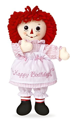 Aurora World Raggedy Ann Happy Birthday Doll, 10