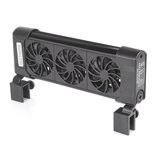 Nano Chiller - BOYU iPettie Aquarium Cooling System Fan Chiller + AC Adapter (3 Fan)